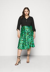 Simply Be - MIDI SKIRT - A-line skirt - green - 1