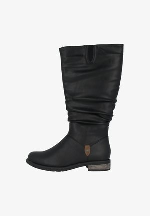 Boots - black/brown