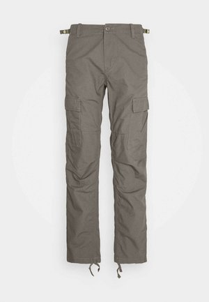 AVIATION PANT COLUMBIA - Cargo trousers - air force grey rinsed