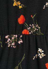 Even&Odd - Maxi dress - black/multicolor - 2
