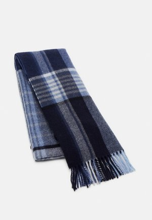 DIPPER CHECK  - Scarf - blue