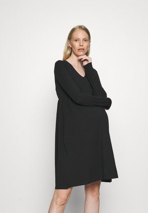 MLSANNIE  - Vestito di maglina - black