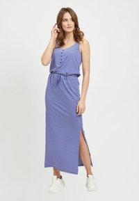 Object - OBJSTEPHANIE MAXI DRESS  - Maxi dress - clematis blue - 1