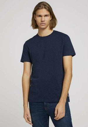 Print T-shirt - sky captain blue non-solid