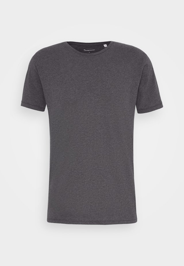 ALDER BASIC TEE - T-Shirt basic - dark grey