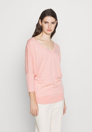 EXCLUSIVE VNECK BLEND - Jumper - blush flower