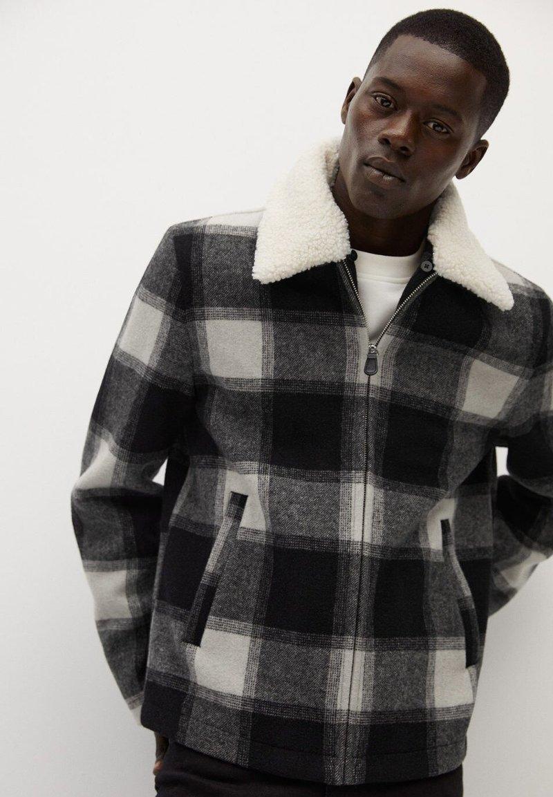 Mango - SHEFIEL2-I - Summer jacket - schwarz
