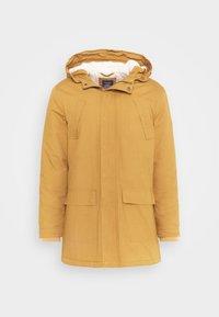 FISHER - Zimní kabát - brown