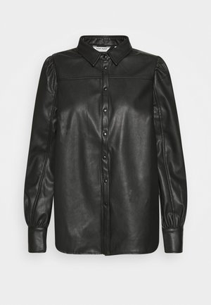 HROSA  - Button-down blouse - noir