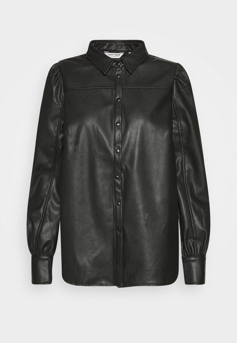 NAF NAF - HROSA  - Button-down blouse - noir