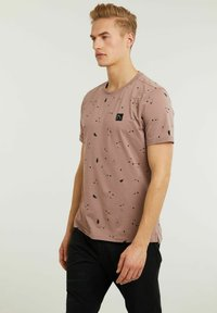 CHASIN' - LEO - Print T-shirt - pink - 2