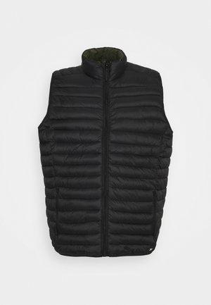 OUTERWEAR - Waistcoat - black