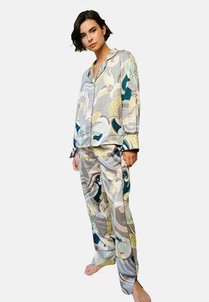 Yöasusetti - oriental floral print