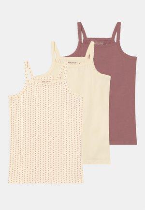 YALINA 3 PACK  - Undershirt - offwhite