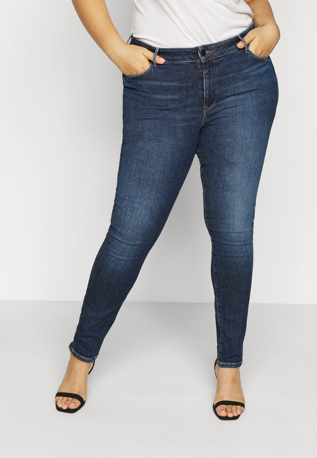 HARLEM LUCY CURVE - Jeans Skinny Fit - blue denim