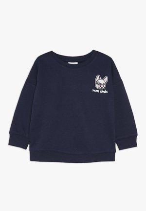 SAGE CREW - Sweater - peacoat
