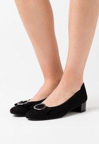 Caprice - COURT SHOE - Classic heels - black - 0