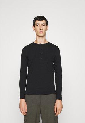 CAPPE - T-shirt à manches longues - black