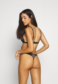 Calvin Klein Underwear - BLOOM FLORAL BRAZILIAN - Underbukse - black - 2