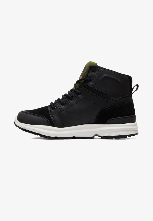 TORSTEIN - Lace-up ankle boots - camo black