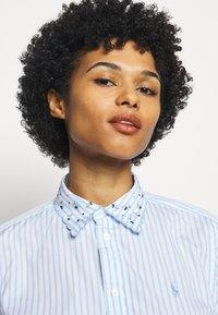 Polo Ralph Lauren - GEORGIA LONG SLEEVE - Button-down blouse - white/blue - 3