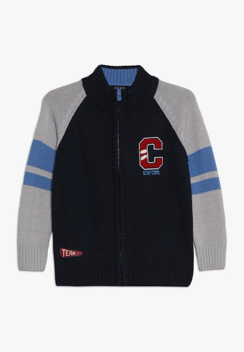 Blue Seven - Strikjakke /Cardigans - dark blue