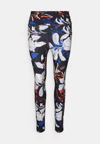 WELCOME TO THE JUNGLE PRINT HIGH WAIST 7/8 - Leggings - midnight