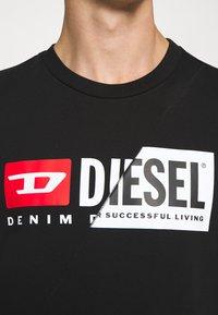 Diesel - S-GIRK-CUTY - Felpa - black - 5