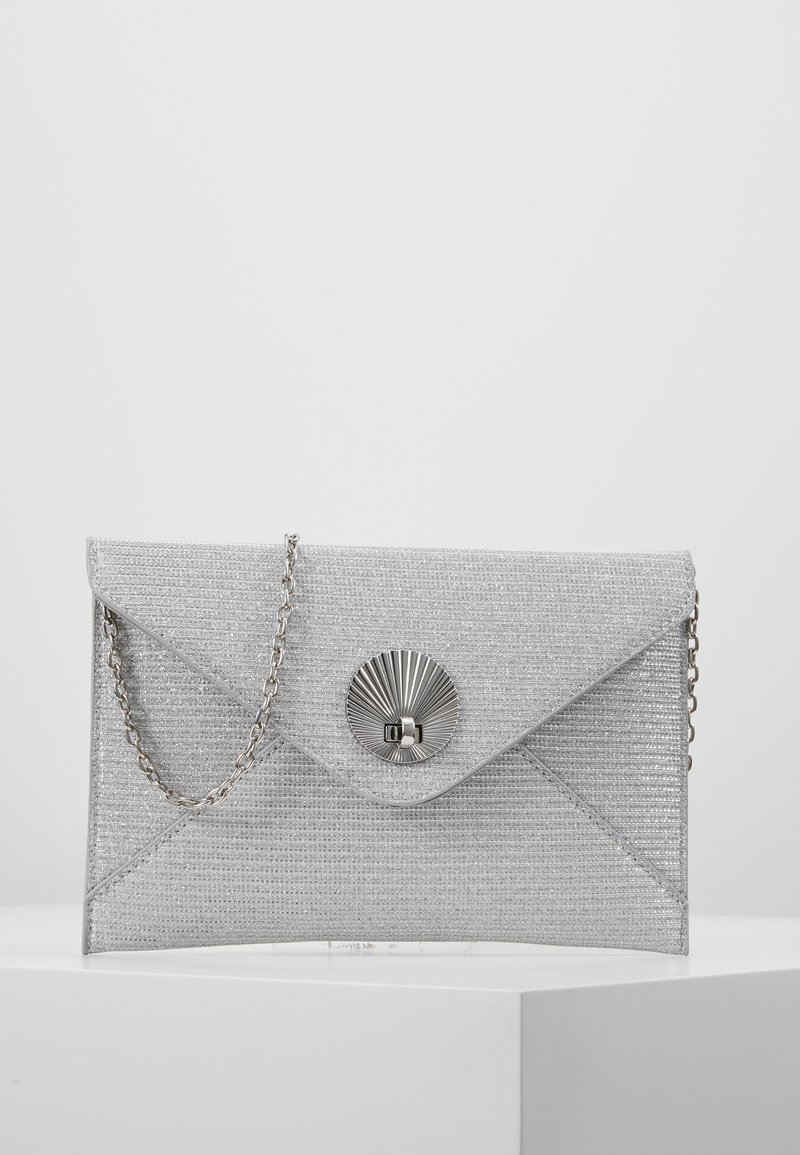 Dorothy Perkins - SHELL - Clutches - silver