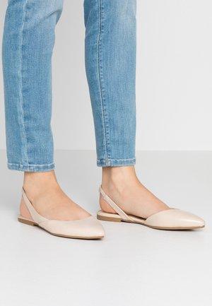 ONLANAS  - Slingback ballet pumps - beige