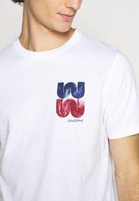 Wood Wood - SAMI  - Print T-shirt - bright white - 5