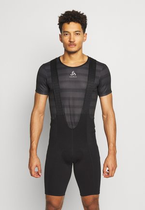 BIKE BIB SHORTS BASIC - Punčochy - black