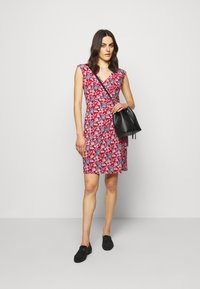 Lauren Ralph Lauren - PRINTED MATTE DRESS - Žerzejové šaty - red/blue/multi - 1