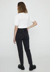 PULL&BEAR - Slim fit jeans - black denim - 2
