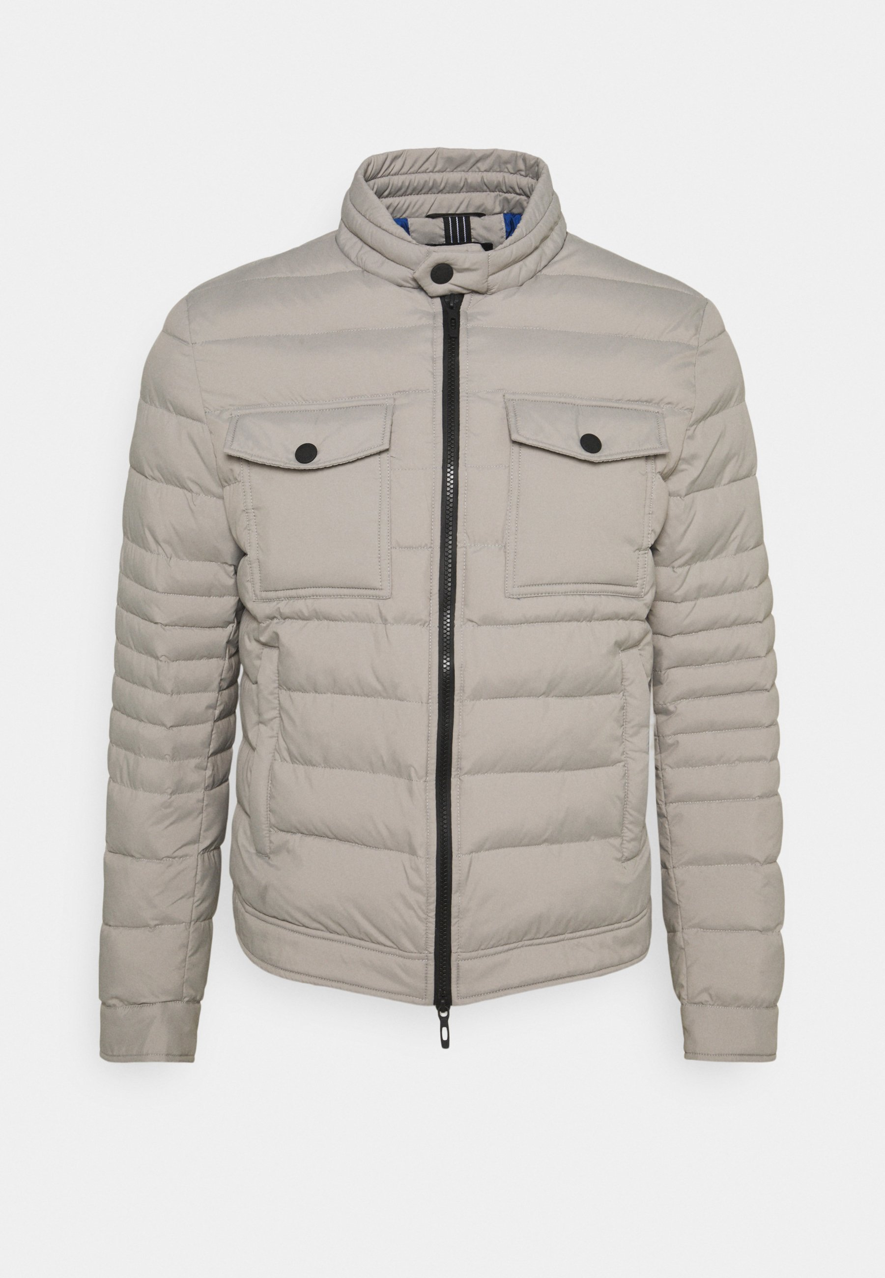 Men SLIM FIT IN TECHNO FABRIC WAXY TOUCH - Light jacket