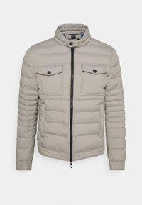 Antony Morato - SLIM FIT IN TECHNO FABRIC WAXY TOUCH - Light jacket - light grey - 0