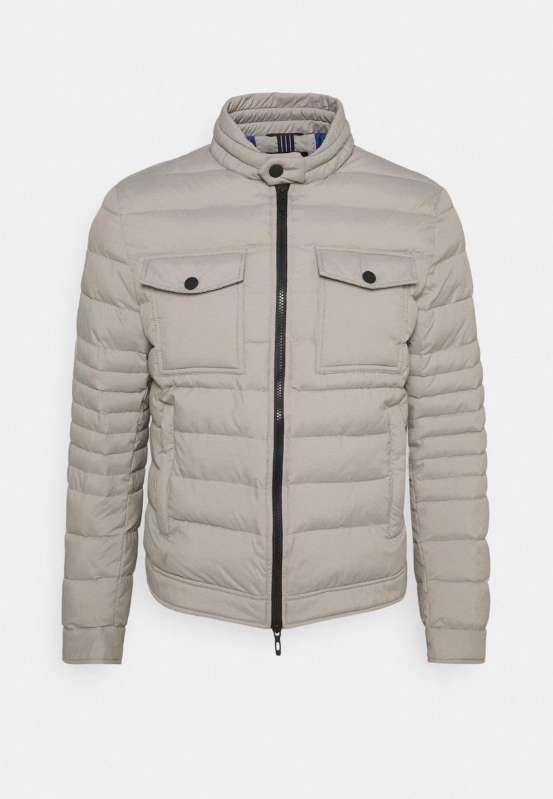 Antony Morato - SLIM FIT IN TECHNO FABRIC WAXY TOUCH - Light jacket - light grey