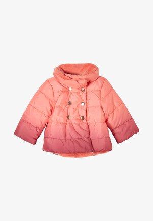 Winter jacket - pink gradient