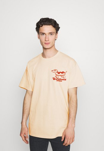 MR WURSTHUND - Print T-shirt - sand