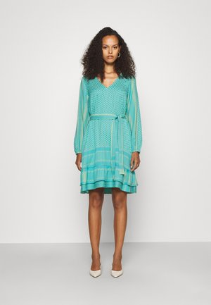 LIA - Day dress - green mist/dusty turquoise