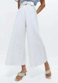 Uterqüe - Trousers - white - 3