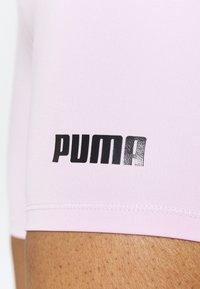 Puma - PAMELA REIF X PUMA MID WAIST SHORT - Leggings - wisnome orchid - 5