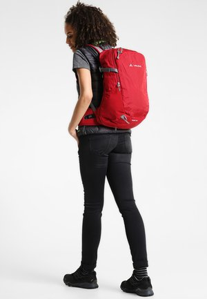 WIZARD 18+4 - Trekkingrucksack - indian red