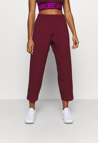 Nike Performance - PANT - Tracksuit bottoms - dark beetroot/metallic silver - 2