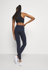 Champion - LEGGINGS LEGACY - Punčochy - dark blue - 2