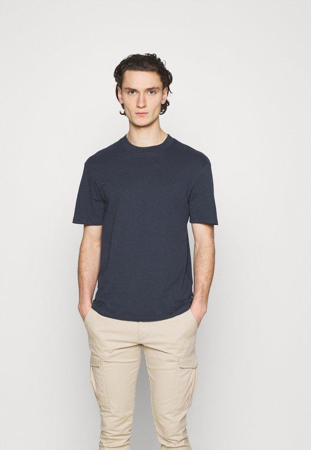 JPRBLAPEACH TEE CREW NECK - T-shirt basic - dark navy