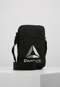 Reebok - CITY BAG - Across body bag - black - 0