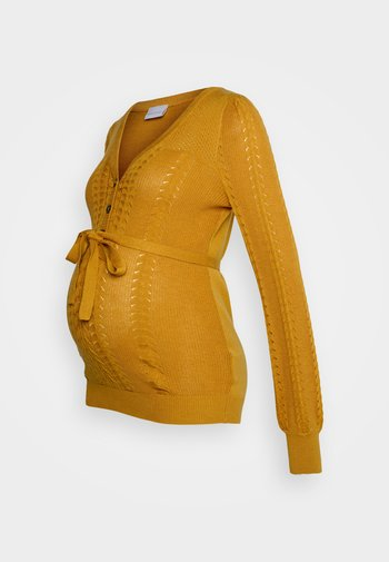 MLOVA LIA - Sweter - spruce yellow