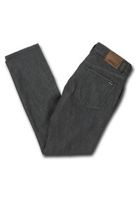 Volcom - VORTA DENIM - Straight leg -farkut - grey - 4