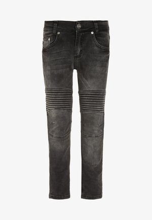 BIKER - Jeans Skinny Fit - black denim
